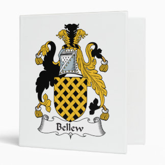 Bellew Family Crest 3 Ring Binders