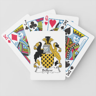 Bellew Family Crest Bicycle Poker Deck