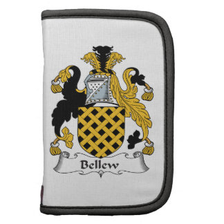 Bellew Family Crest Folio Planners