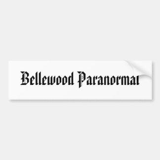 Bellewood Paranormal Car Bumper Sticker