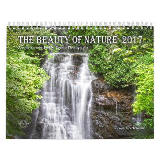 Belleza 2017 del calendario de la fotografía de la