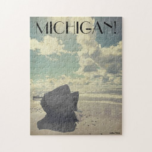 Belleza a lo largo del lago Michigan Puzzle