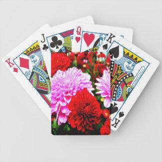 belleza abierta de la flor de las momias para el a cartas de juego