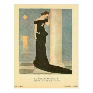 Belleza Affligee del La del ~ del ejemplo del art  Postales