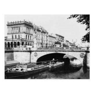 Belleza-Alliance tiende un puente sobre, Berlín, Postales