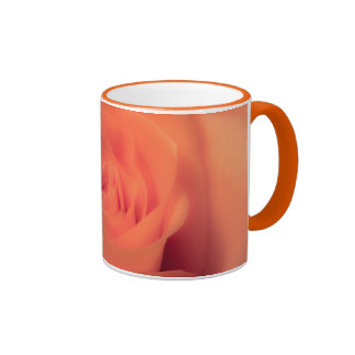 Belleza anaranjada taza a dos colores