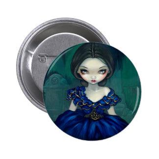 """""""Belleza botón de Bonaventure"""" Pin Redondo De 2 Pulgadas"""