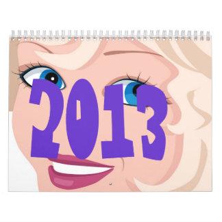 Belleza Callendar Calendario