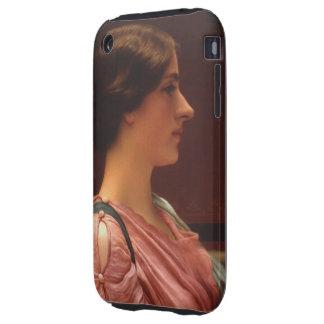 Belleza clásica de Juan Guillermo Godward Tough iPhone 3 Carcasa