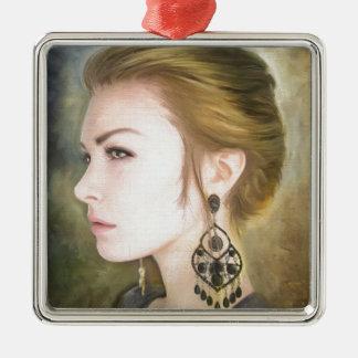 Belleza clásica del arte de la pintura del retrato ornamentos para reyes magos