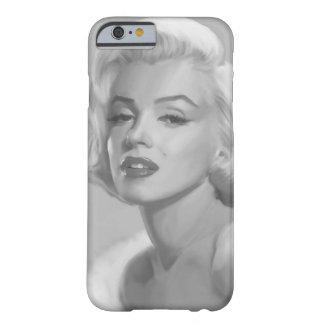 Belleza clásica funda de iPhone 6 barely there