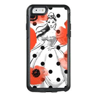 Belleza con las amapolas y los lunares funda otterbox para iPhone 6/6s