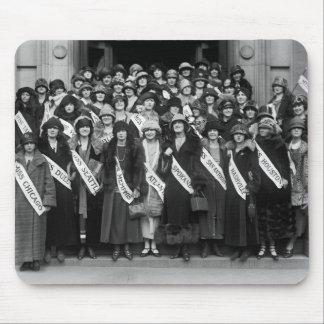 Belleza Contestants, 1923 Alfombrilla De Ratones