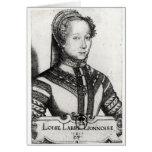 Belleza Cordiere, 1555 del La de Louise Labe Tarjetas