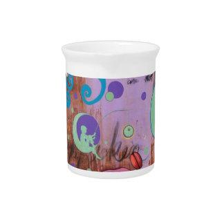 Belleza cósmica del vintage jarras