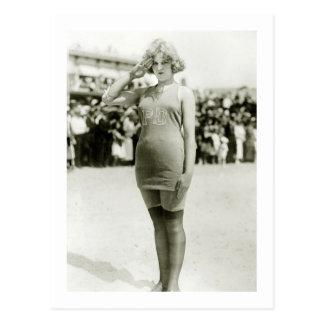 Belleza de Atlantic City, 1900s tempranos Tarjetas Postales