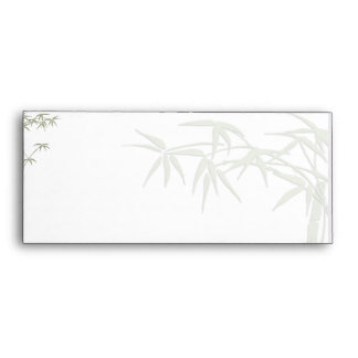 Belleza de bambú sobres