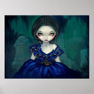 Belleza de Bonaventure - impresión gótica meridion Póster