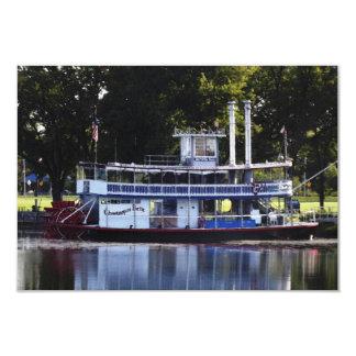 "Belleza de Chautauqua en el lago Chautauqua Invitación 3.5"" X 5"""
