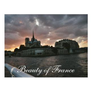Belleza de Francia Tarjetas Postales