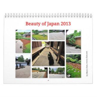 Belleza de Japón - el zen cultiva un huerto 2013 Calendario