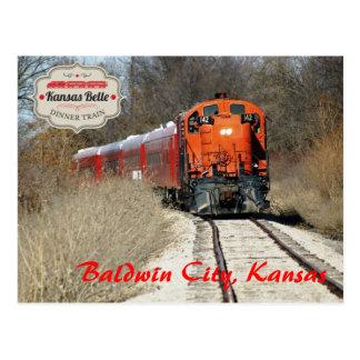 Belleza de Kansas - motor 142 Tarjetas Postales