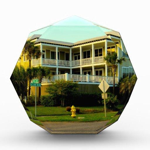 Belleza de la esquina en la isla de palmas