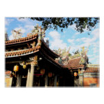 Belleza de la impresión del templo póster
