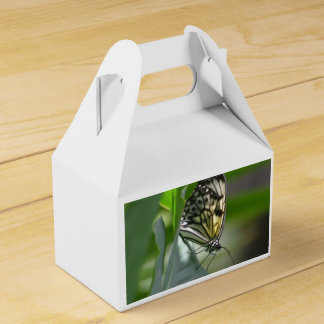 Belleza de la mariposa cajas para detalles de boda