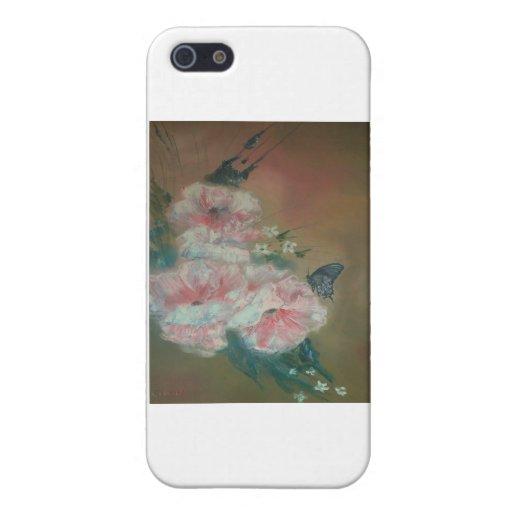 Belleza de la mariposa iPhone 5 fundas