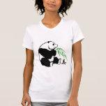 Belleza de la panda camiseta