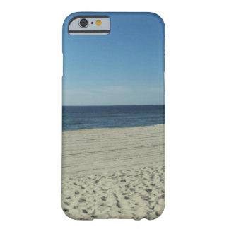 Belleza de la playa funda de iPhone 6 barely there