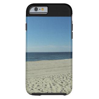 Belleza de la playa funda de iPhone 6 tough