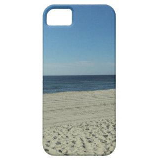 Belleza de la playa funda para iPhone 5 barely there