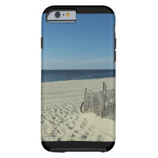 Belleza de la playa funda para iPhone 6 tough