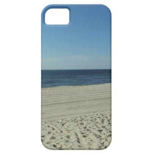 Belleza de la playa funda para iPhone SE/5/5s