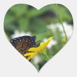 Belleza de la primavera colcomanias corazon