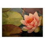 Belleza de Lillies Plantilla De Tarjeta De Negocio