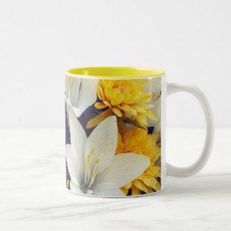 Belleza de oro tazas