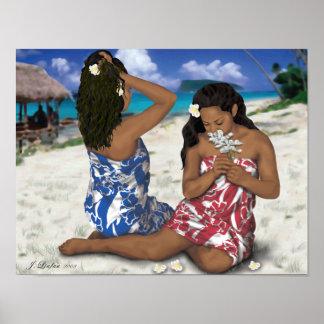 Belleza de Samoana Posters