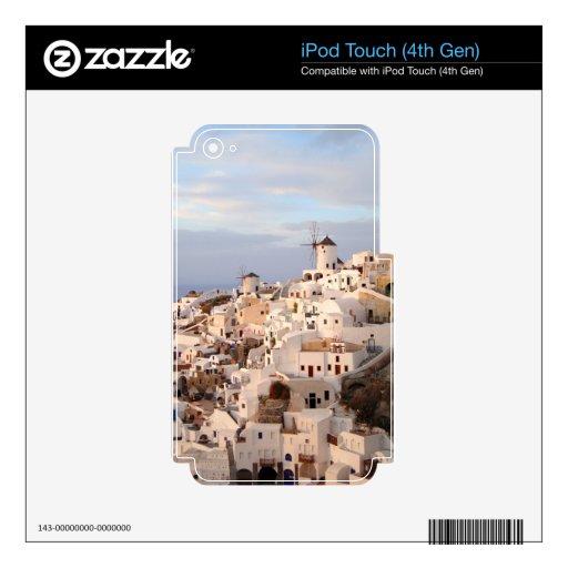 Belleza de Santorini Calcomanía Para iPod Touch 4G
