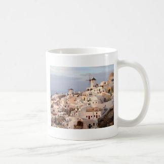 Belleza de Santorini Taza Clásica
