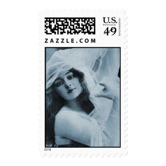 Belleza de teatro timbres postales