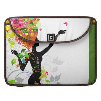 Belleza de una mariposa funda para macbook pro