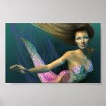 Belleza del agua poster