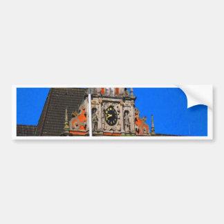 Belleza del ayuntamiento antiguo de Harburg del ti Pegatina Para Auto