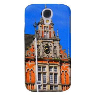 Belleza del ayuntamiento antiguo de Harburg del ti Funda Para Galaxy S4