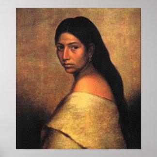 Belleza del Choctaw Poster