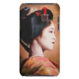 Belleza del geisha - pintura japonesa oriental funda para iPod de Case-Mate
