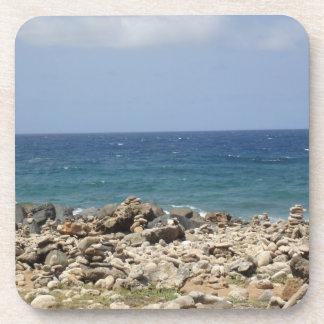 Belleza del océano posavaso